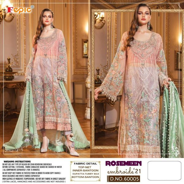 FEPIC 60005 EMBROIDE 21 ROSEMEEN COLLECTION ONLINE