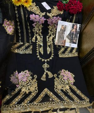SHREE FABS S 237 BLACK DESIGNER COLLECTION