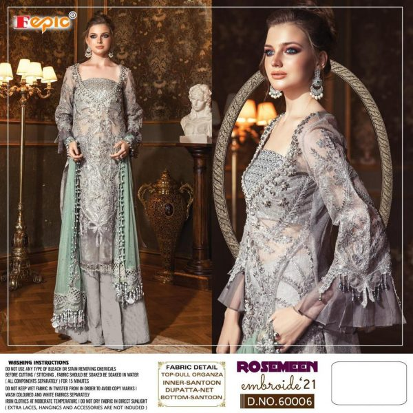 FEPIC 60006 EMBROIDE 21 ROSEMEEN COLLECTION ONLINE