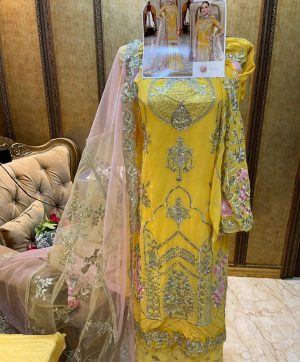 SHREE FABS S 250 YELLOW WHOLESALE OF SALWAR KAMEEZ