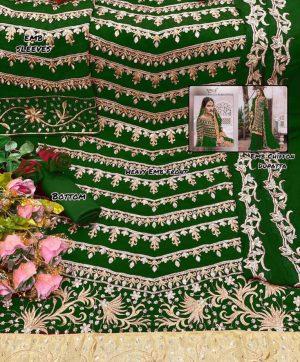 RINAZ FASHION RAMJAN 1194 C GREEN WHOLESALE SUITS