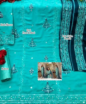 AFFAN CREATION 110 SALWAR KAMEEZ IN SINGLES