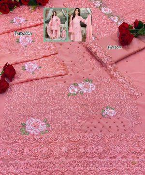 SHENYL 145 C PINK LATEST SALWAR KAMEEZ WHOLESALER