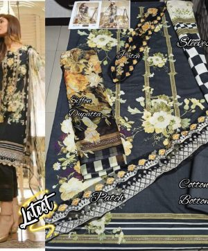 SHREE FABS NOOR 1244 COTTON SUITS IN SINGLE
