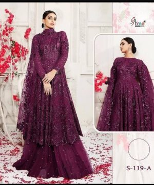 SHREE FABS 119 A SALWAR KAMEEZ ONLINE WHOLESALE