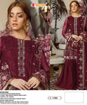 FEPIC 1086 WHOLESALE SALWAR KAMEEZ SINGLE