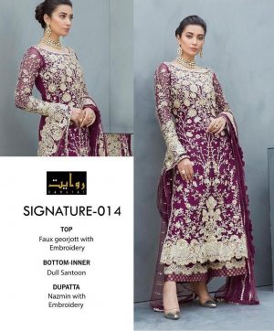 RIWAYAT SIGNATURE 014 NEW COLOR SALWAR KAMEEZ
