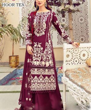 HOOR TEX 21022 B COTTON SALWAR KAMEEZ