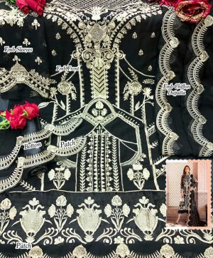 MARIA 102 BLACK SALWAR KAMEEZ WHOLESALE