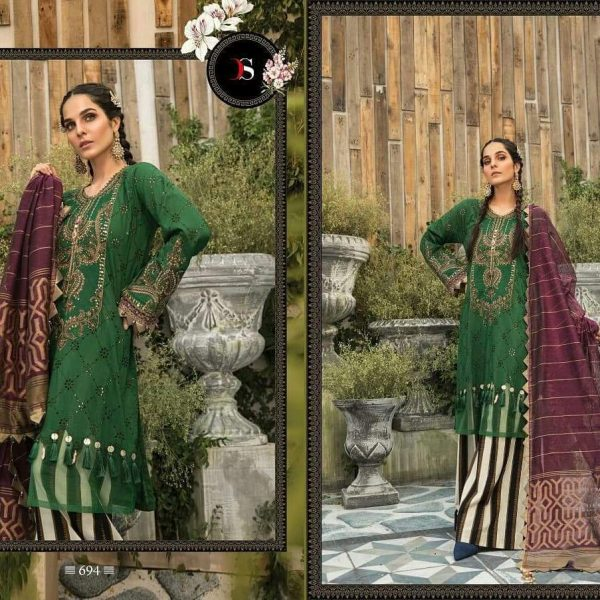 DEEPSY MARIYA B LAWN 694 WHOLESALE PRICE