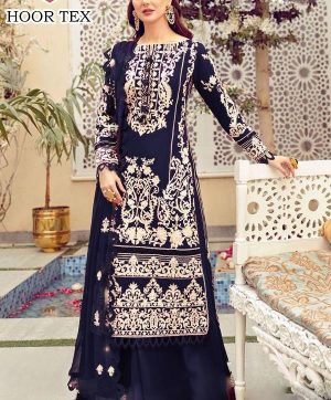 HOOR TEX 21022 C COTTON SALWAR KAMEEZ