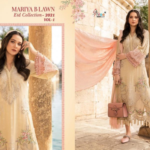 SHREE FABS MARIYA B LAWN EID 2021 VOL 1 SINGLES2