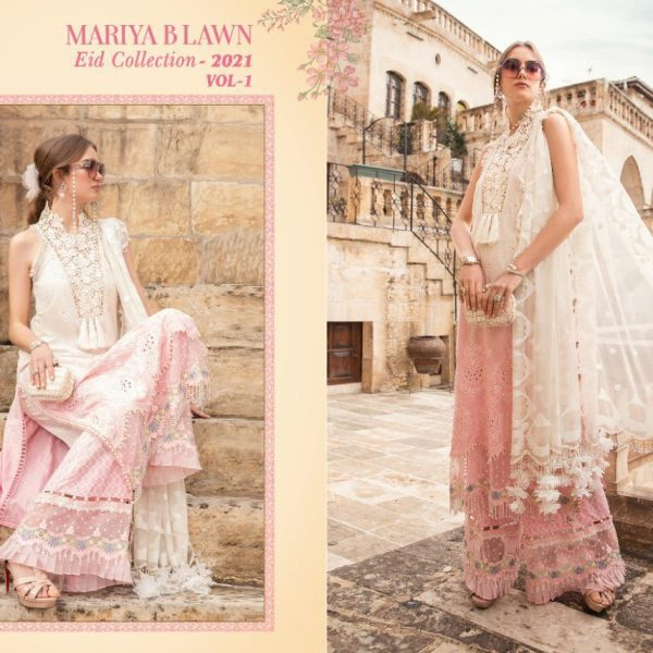 SHREE FABS MARIYA B LAWN EID 2021 VOL 1 SINGLES3