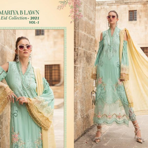 SHREE FABS MARIYA B LAWN EID 2021 VOL 1 SINGLES4