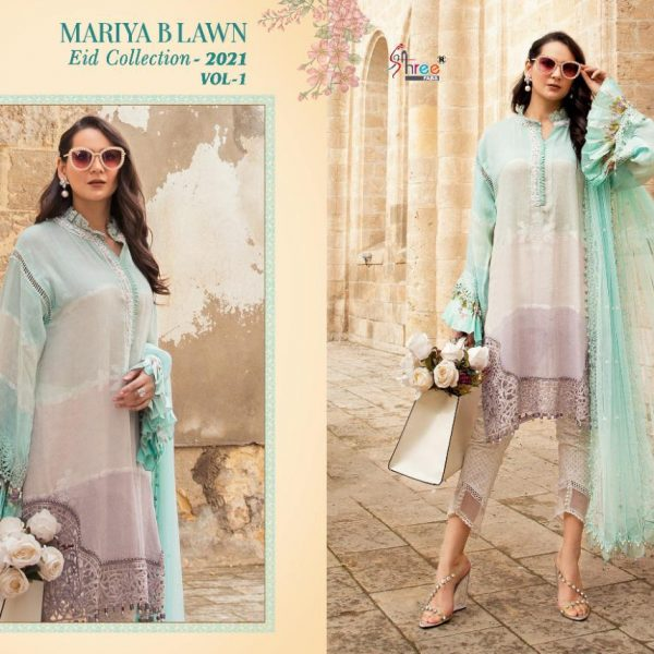 SHREE FABS MARIYA B LAWN EID 2021 VOL 1 SINGLES7