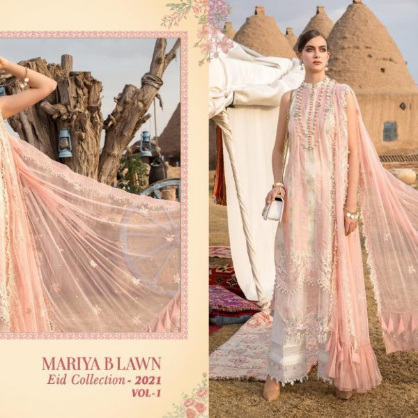 SHREE FABS MARIYA B LAWN EID 2021 VOL 1 SINGLES8