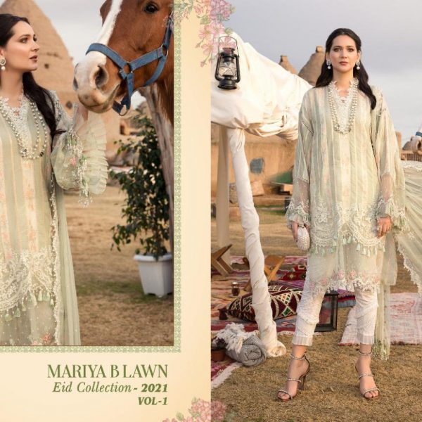 SHREE FABS MARIYA B LAWN EID 2021 VOL 1 SINGLES9