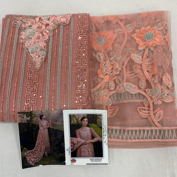 SHREE FABS SANA SAFINAZ NET FABRIC SUITS IN SINGLES (4)