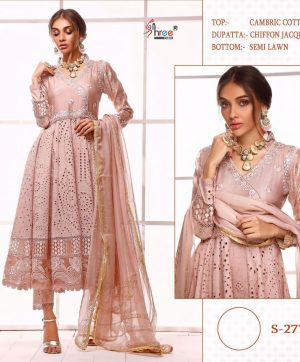 SHREE FABS 277 LATEST SALWAR KAMEEZ BY SHREE FABS