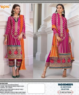 FEPIC 87004 ZC UNSTITCH COLLECTION SALWAR KAMEEZ