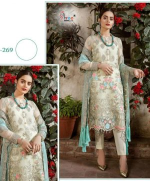 SHREE FABS S 269 WHOLESALER OF SALWAR KAMEEZ