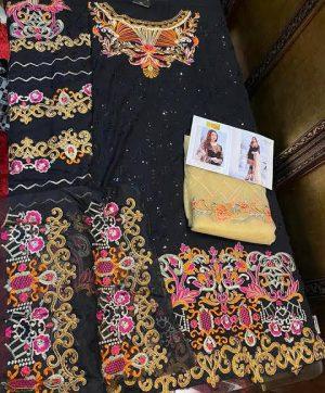 RINAZ FASHION 3007 BLACK SALWAR KAMEEZ ONLINE