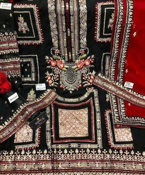 SHENYL 130 BLACK SALWAR KAMEEZ ONLINE WHOLESALE