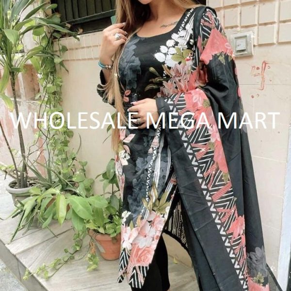 SHRADDHA DESIGNER MAHGUL 106 BLACK