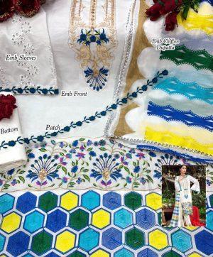 ALIF FASHION A 19 AIZAH PAKISTANI SALWAR KAMEEZ