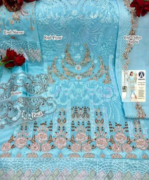 ARMANI RIMSHA 11 BLUE SALWAR KAMEEZ WHOLESALE