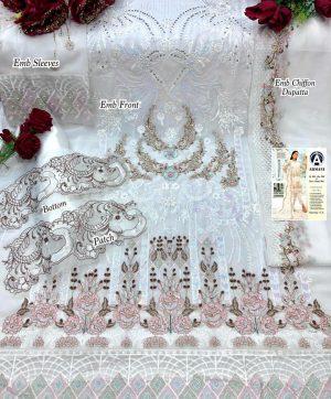 ARMANI RIMSHA 11 WHITE SALWAR KAMEEZ WHOLESALE