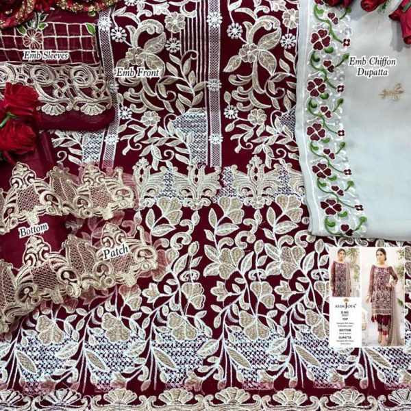ASIM JOFA 56007 PAKISTANI SALWAR KAMEEZ MANUFACTURER