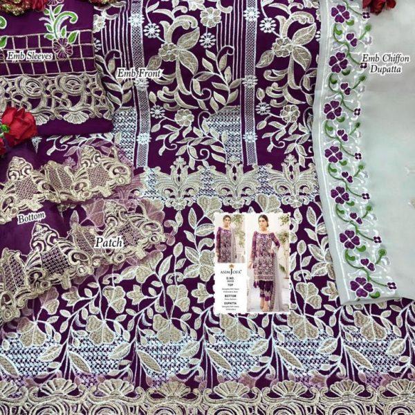ASIM JOFA 56008 PAKISTANI SALWAR KAMEEZ MANUFACTURER