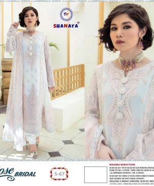 SHANAYA S 67 ROSE BRIDAL SALWAR KAMEEZ
