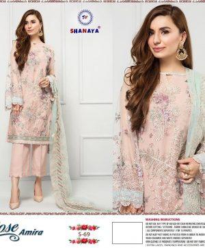 SHANAYA S 69 PAKISTANI SUITS MANUFACTURER INDIA