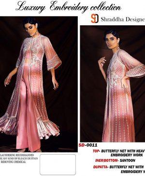 SHRADDHA DESIGNER SD 011 SALWAR KAMEEZ MANUFACTURER