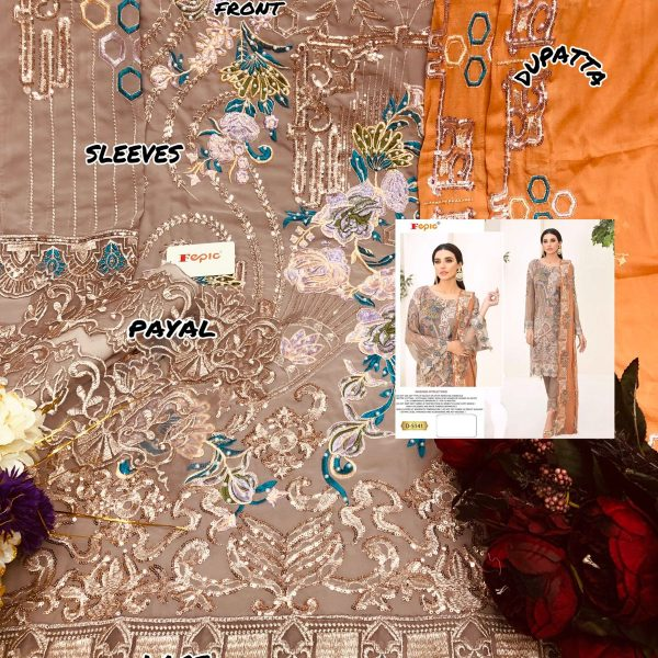 FEPIC 5141 ROSEMEEN SALWAR KAMEEZ WHOLESALER